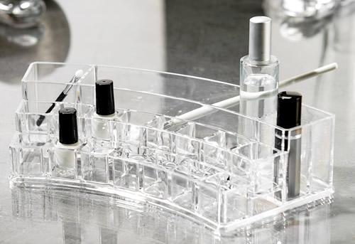 Curved Multi Cosmetics Organiser