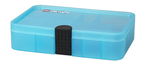 LEGO Dimensions minifigure storage box with LEGO base plate lid for personalisation