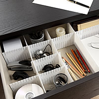 Set of Drawer Organiser Dividers