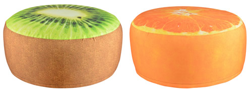 Beanbag pouffe suitable for indoor and outdoor use