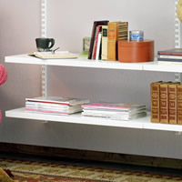 Wooden Solid Elfa Shelf - 90cm x 30cm