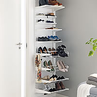 Elfa Hallway Storage Solution - 45cm Wide
