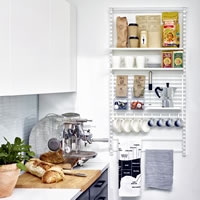 Elfa Best Selling Solution - Kitchen Storage 3