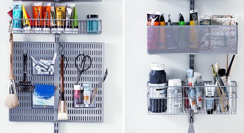 Elfa Door Rack - Craft Room Best Selling Solution