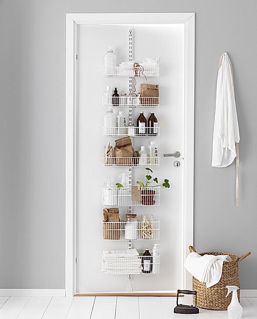 elfa door rack utility room best selling solution