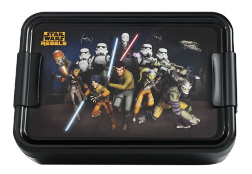 Star Wars Rebels - Lunch Box  sc 1 st  A Place For Everything : star wars lunch box - Aboutintivar.Com