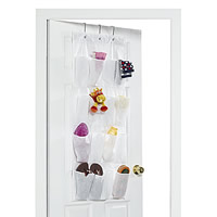 16 Pocket Over Door Organiser - White