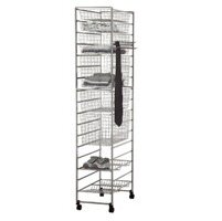 Elfa In-Wardrobe Total Storage Solution - Platinum