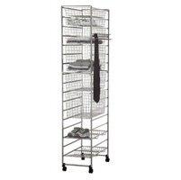 Elfa In-Wardrobe Total Storage Solution - Platinum