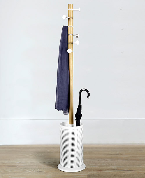 Coat rack and umbrella stand - Promenade