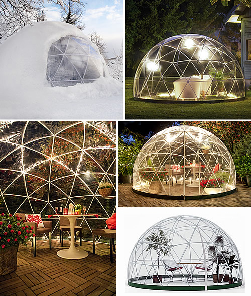 Geodesic garden room - the original Garden Igloo