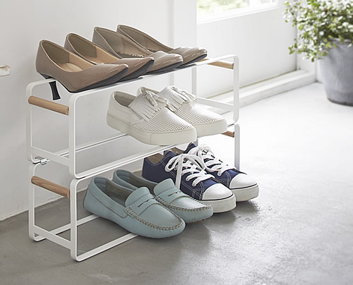 Tosca Single Stacking Shoe Rack