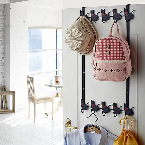 Cat Design Over The Door Storage Hook