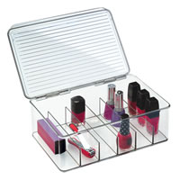 Nail Varnish Storage Box with Lid