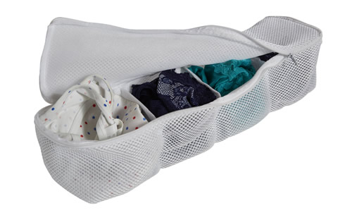 4 pocket delicates organiser wash bag