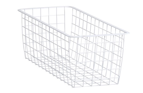 Elfa Wire Basket 25cm x 54cm - Medium