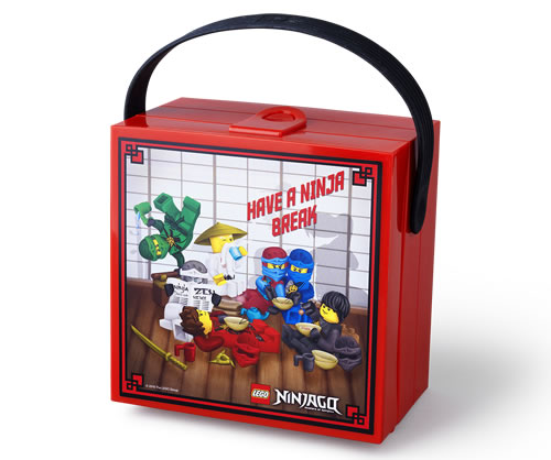 LEGO Ninjago Lunch Box with Carry Handle