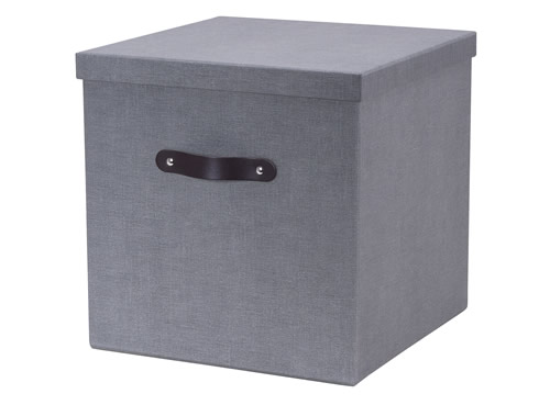 Fibreboard storage box