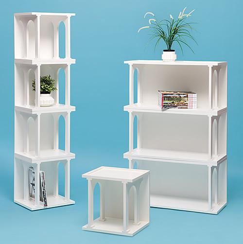 Renaissance inspired storage unit