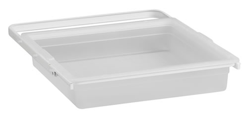 Elfa Translucent Solid Drawer & Frame 45cm - Shallow
