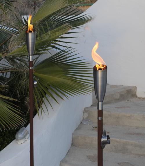 2 x Manhattan Garden Torches
