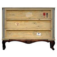Packing Crate Chest of Drawers
