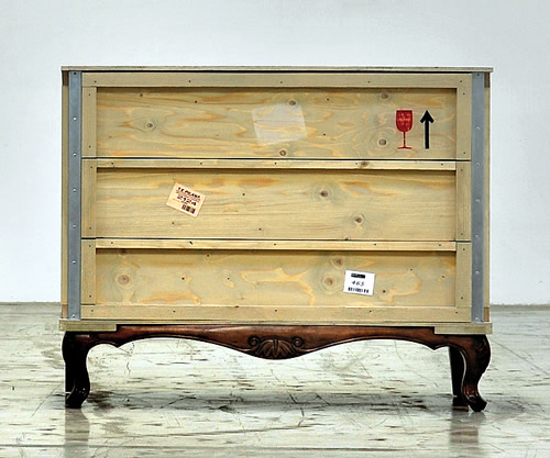 Export Como wooden chest of 3 drawers