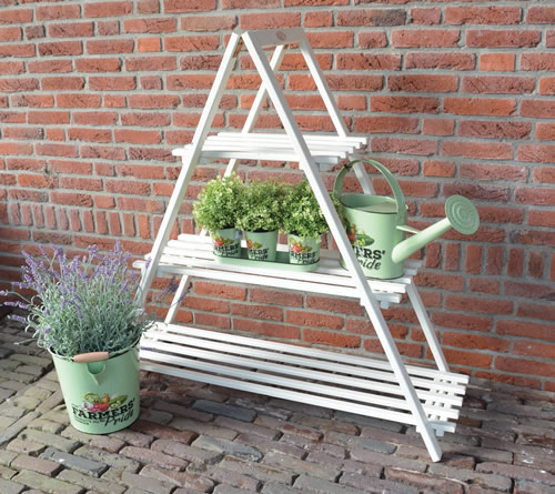 3 tier plant ladder