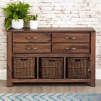 Walnut Console Table - Mayan