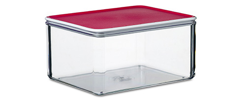 2 litre capacity cheese storage box  sc 1 st  A Place For Everything & STORE | Modul Cheese Storage Box - Red
