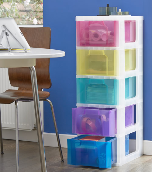 5 drawer storage tower from Really Useful Boxes