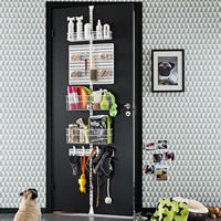 Elfa Door & Wall Rack - Doggy Daycare