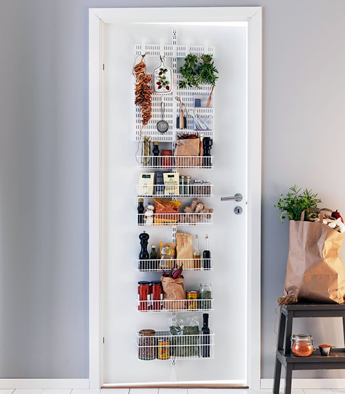Elfa Door Amp Wall Rack Pantry Storage
