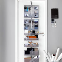 Elfa Door & Wall Rack - Office Essentials
