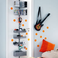 Elfa Door & Wall Rack - Media Storage