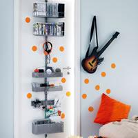 Elfa Door & Wall Rack - Media Storage