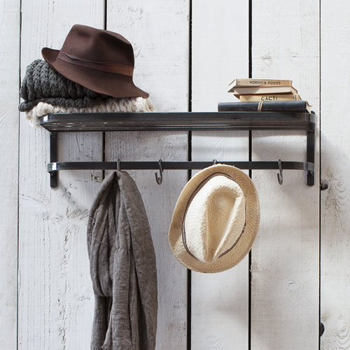 Luggage and coat rack