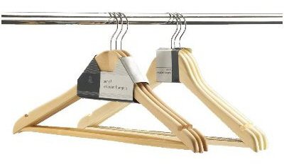 Set of 3 Wooden Hangers