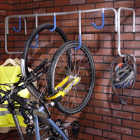 Wall Mounted Multi Bicycle Rack