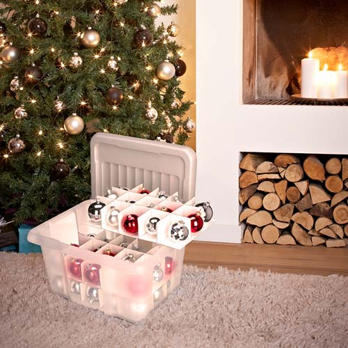 Christmas Decoration Storage Box - Medium Nesta