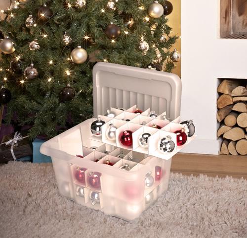 Christmas decoration storage box