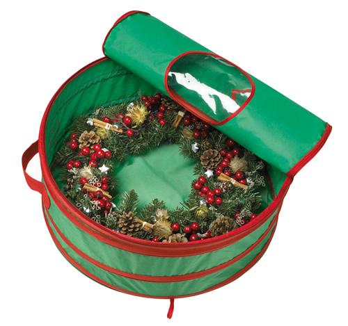 Wreath / Christmas lights storage bag