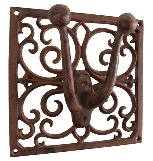 Single Cast Iron Tool Hanger