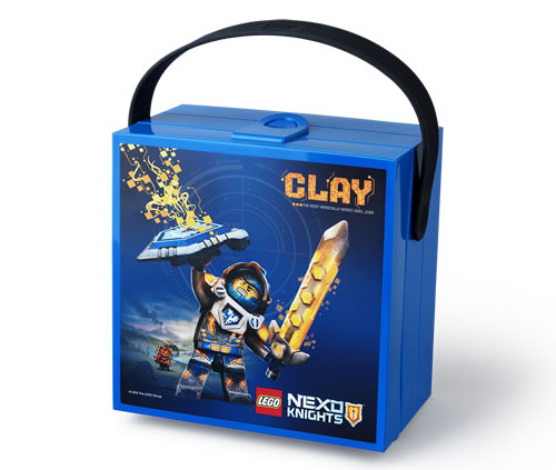 LEGO Nexo Knights lunch box with carry handle