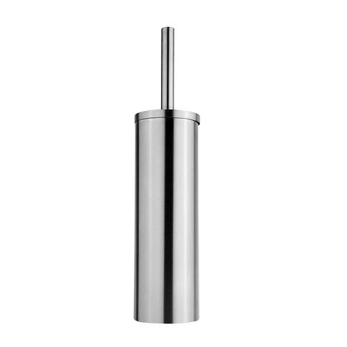 Matt stainless steel toilet brush