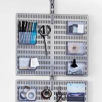 Elfa 12 Slot Door & Wall Board 45cm - Platinum