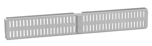 Elfa 2 Slot Door & Wall Board 45cm - Platinum