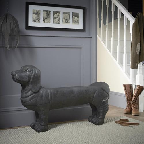 sausage dog bench
