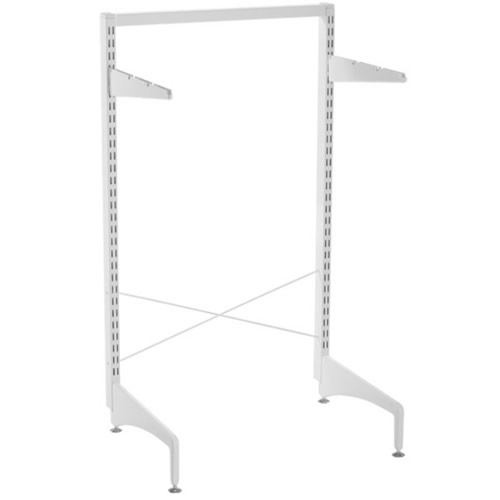 Elfa freestanding upright 2.12m in white