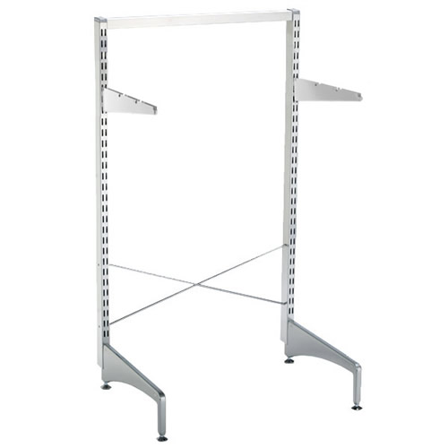 Elfa freestanding feet 47cm in platinum